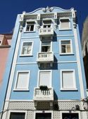 Colorful houses in Lisbon, Portugal — Stock Photo