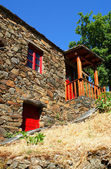 Small typical mountain village of schist in Lousa, Portugal — Stock Photo