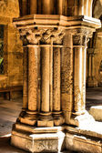 Detalj av gotiska kolumn i se velha — Stockfoto