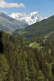 Mont Blanc - Aosta Valley, Italy — Stock Photo