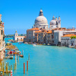 Canal Grande in Venice, Italy - Stock Photo