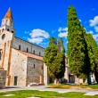 Basilica di Santa Maria Assunta in Aquileia, Italy — Stock Photo