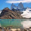 Mountain landscape with Mt. Fitz Roy in Patagonia, South America — Stock Photo #10749162