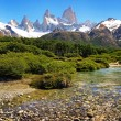 Scenic landscape in Los Glaciares National Park, Patagonia, Argentina — Stock Photo #10749286
