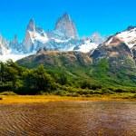 Nature landscape in Patagonia, Argentina — Stock Photo