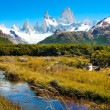 Beautiful nature landscape in Patagonia, Argentina — Stock Photo #10749390