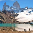 Mountain landscape with Mt. Fitz Roy in Patagonia, South America — Stock Photo #10749417