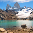 Mountain landscape with Mt. Fitz Roy in Patagonia, South America — Stock Photo #10749419