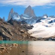 Mountain landscape with Mt. Fitz Roy in Patagonia, South America — Stock Photo #10749431