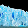 Icebergs isolated on black — Stock Photo #10749502