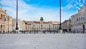 City center of Trieste, Italy — Stock Photo
