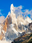 Cerro Torre summit in Patagonia, South America — Stockfoto
