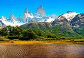 Přírodní krajina v patagonii, argentina — Stock fotografie