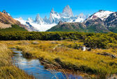 Beautiful nature landscape in Patagonia, Argentina — Stock Photo