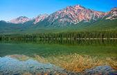 Scenic landscape in Banff National Park, Alberta, Canada — Stock Photo