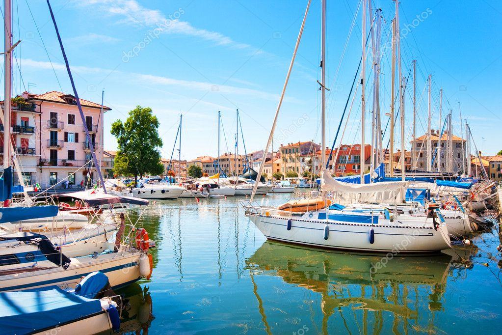 Grado Italy  City pictures : ... 10748742 Beautiful summer scene In Grado Italy at Adriatic Sea