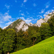 Scenic landscape in Nationalpark Berchtesgadener Land, Bavaria — Stock Photo