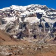 Aconcagua, highest mountain in South America — Foto Stock #11611783