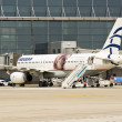 Aegean Airlines, Airbus 320 - Stock Photo
