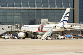 Aegean Airlines, Airbus 320 — Stock Photo