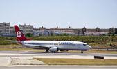 TURKISH, Boeing 737-800 — Stock Photo