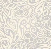 Excellent seamless floral background — Vector de stock