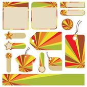 Color pictures — Stock Vector