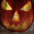 Foto de Stock  : Halloween pumpkin abstract grunge background