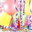 Colorful party background with balloons — Stock Photo #11123892
