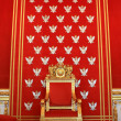 Royalty-Free Stock Photo: Throne of polish king in Warsaw castle