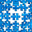 Water puzzle abstract background blue — Stock Photo #11124538