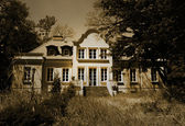 Haunted house mansion — Stock Photo