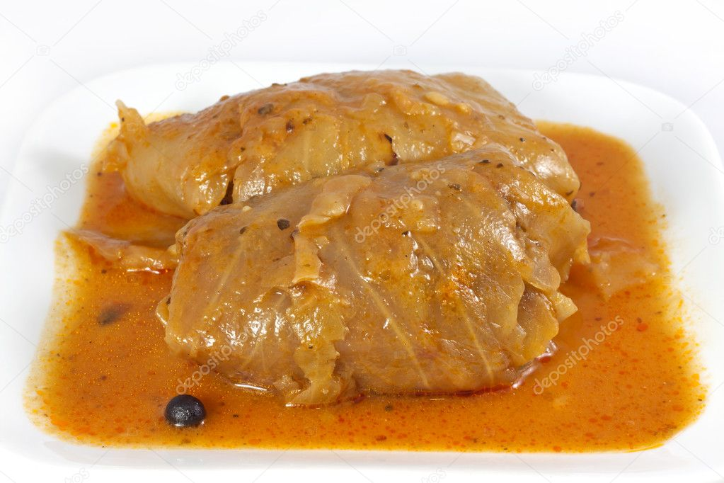 Stuffed cabbage roll — Stok fotoğraf #11123162