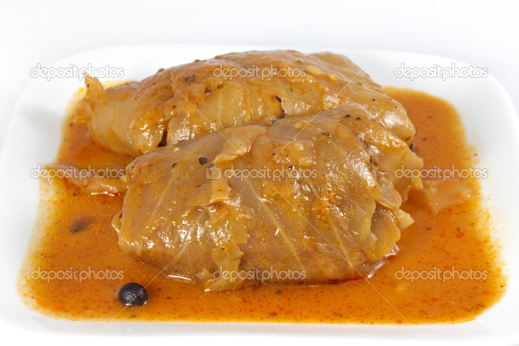 Stuffed cabbage roll — Stock Photo #11123162