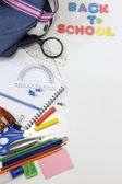 Back to school education background concept — Stock Photo