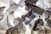 Creased paper vintage abstract background texture — Stock Photo