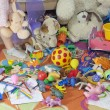 Messy kids room with toys — Foto Stock