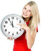 Concepto de tiempo. cinco a doce — Foto de Stock