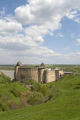 Fortress in Khotyn — Stock Photo