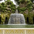 Villa d'Este - Tivoli — Stock Photo