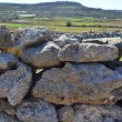 Rubble wall in the Maltse countryside — Stock Photo
