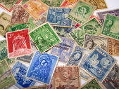 Maltese Vintage Stamps — Stock Photo