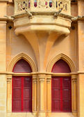 Detail from an old house in Mdina - Malta — Stock Photo