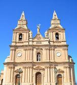 Mellieha Parish Church - Malta — Stock Photo