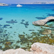 The Blue Lagoon - Comino, Malta — Stock Photo