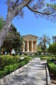 Lower Barracca Gardens in Valletta — Stock Photo