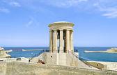 Siege Bell War Memorial in Valletta — Stock Photo