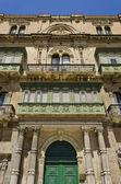 Valletta Houses - Malta — Stock Photo