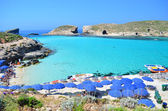 The Blue Lagoon - Comino, Malta — Stock Photo