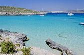 Laguna blu - comino, malta — Foto Stock